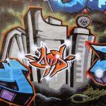 Graffiti 3d na chodniku